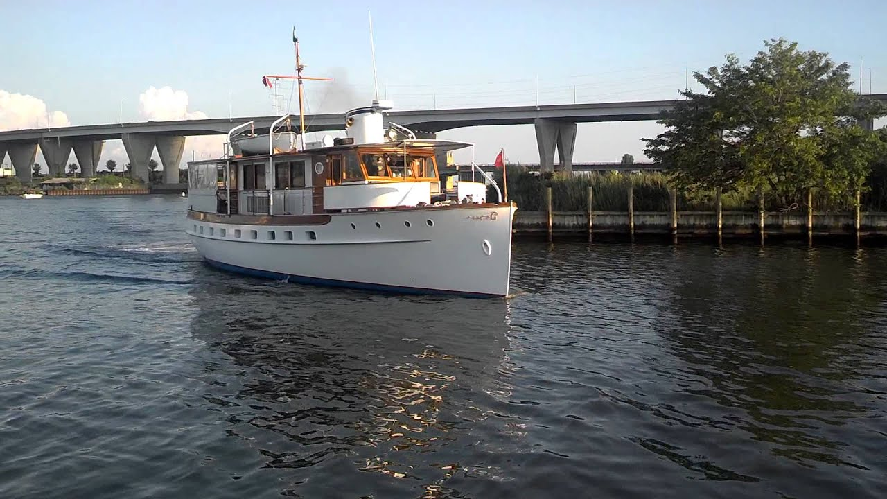 Sea Tabby arrives at Piney Narrows Yacht Haven, Kent Island, Md