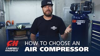How to Choose an Air Compressor