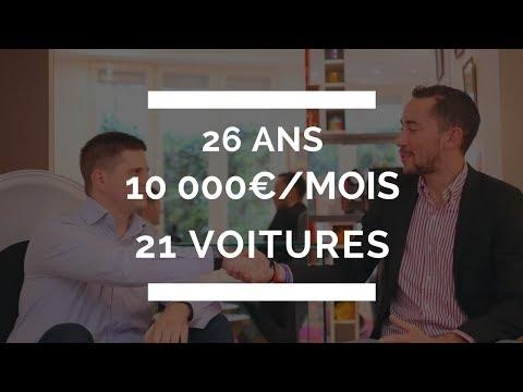 ROMAIN, 26 ANS, 10 000€/MOIS, 21 VOITURES