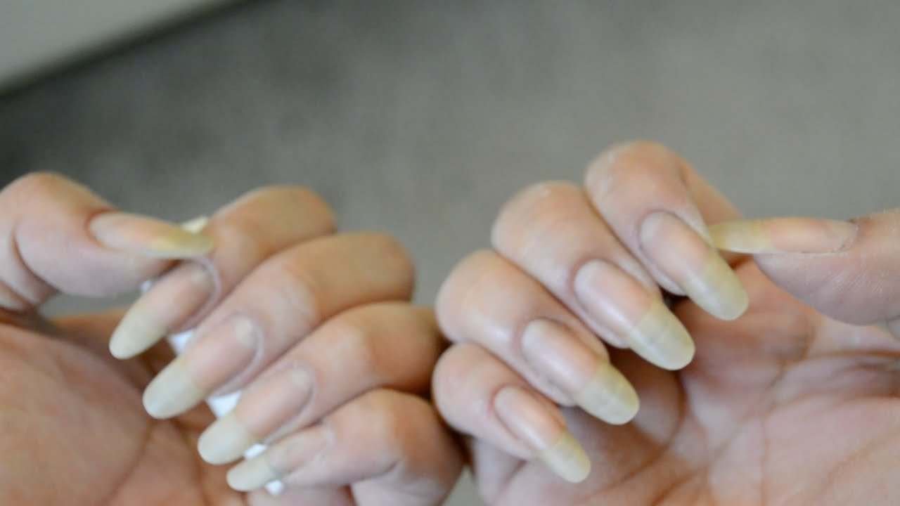 How to: File Nails the Almond Shape! ☆ Zhyna - YouTube