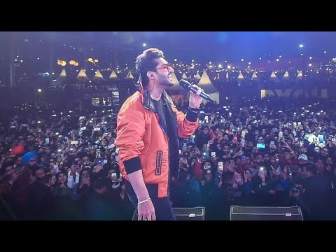 Jassi Gill Live Show In Chandigarh Youtube