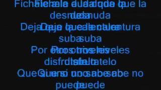 Ojos Que No Ven Alexis y Fido Lyrics (Spanish & English)