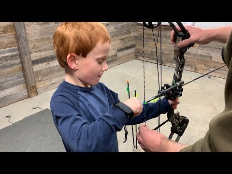Setting Up A Youth Compound Bow