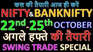 Bank Nifty & Nifty tomorrow 22nd October 2019 Weekly Chart Analysis SIMPLE ANALYSIS POWERFUL RESULTS