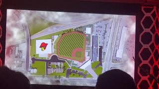 Vince Tyra introduces Louisville Baseball indoor facility