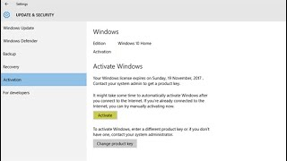 Activate Windows 10 for FREE without any Software│विंडोज 10 को एक्टिवेट कैसे करें   By  Hacker Dost
