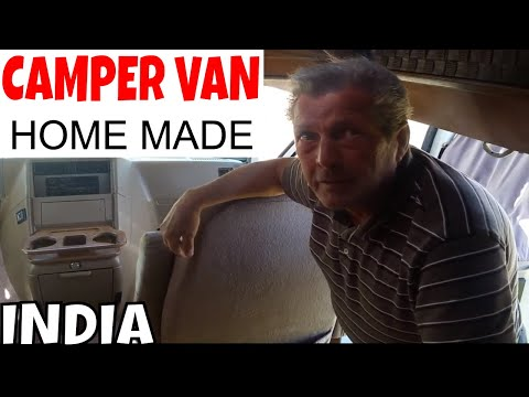 Homemade Indian Campervan for 100 000 Rupees - INDIA