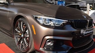 2018 BMW 440i Gran Coupe Gets The M Performance, display at SEMA in Las Vegas until Friday 1