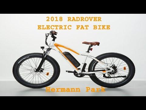 2018 RADROVER ELECTRIC FAT RAD POWER BIKE 25 Hermann Park
