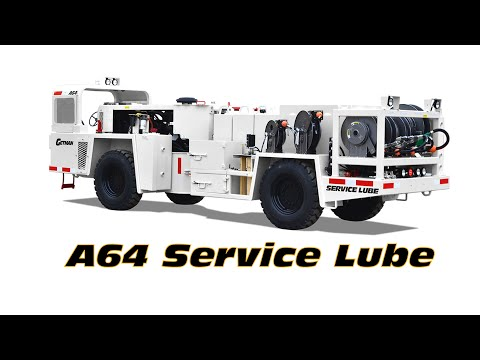 Getman A64 Service Lube Truck