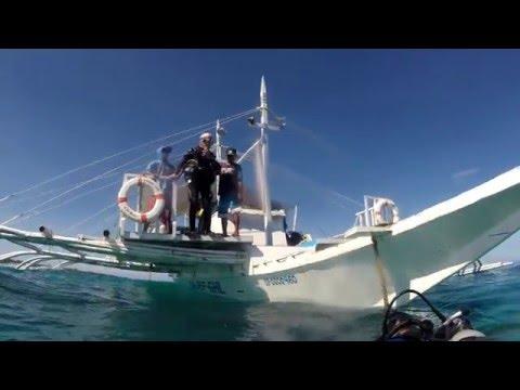 Malapascua, Cebu, Philippines Scuba diving with Sea Explorers February 2016