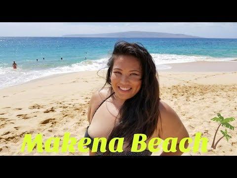 Makena Big Beach in Maui, Hawaii