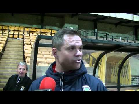 Neil Kitching Interview | Staffs Senior Cup Final win vs Leek Town [20/4/15]