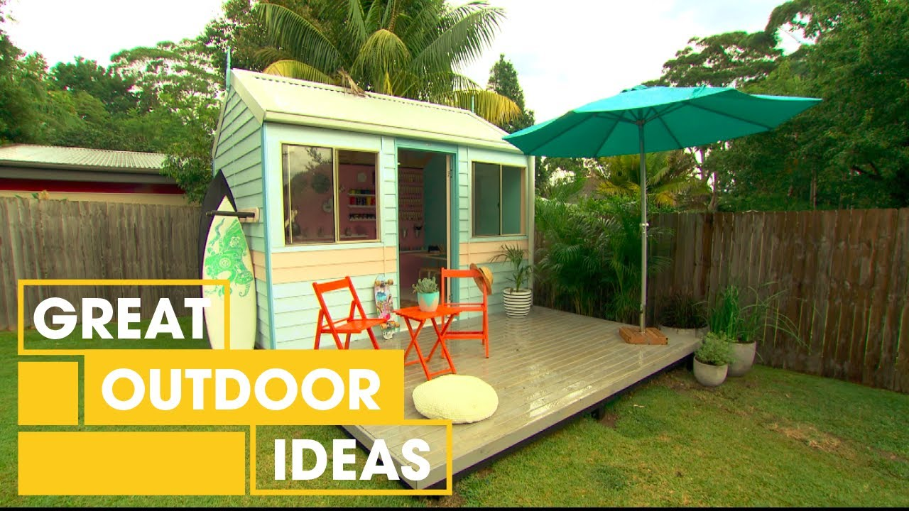 how to build a budget surf shack outdoor great home ideas youtube