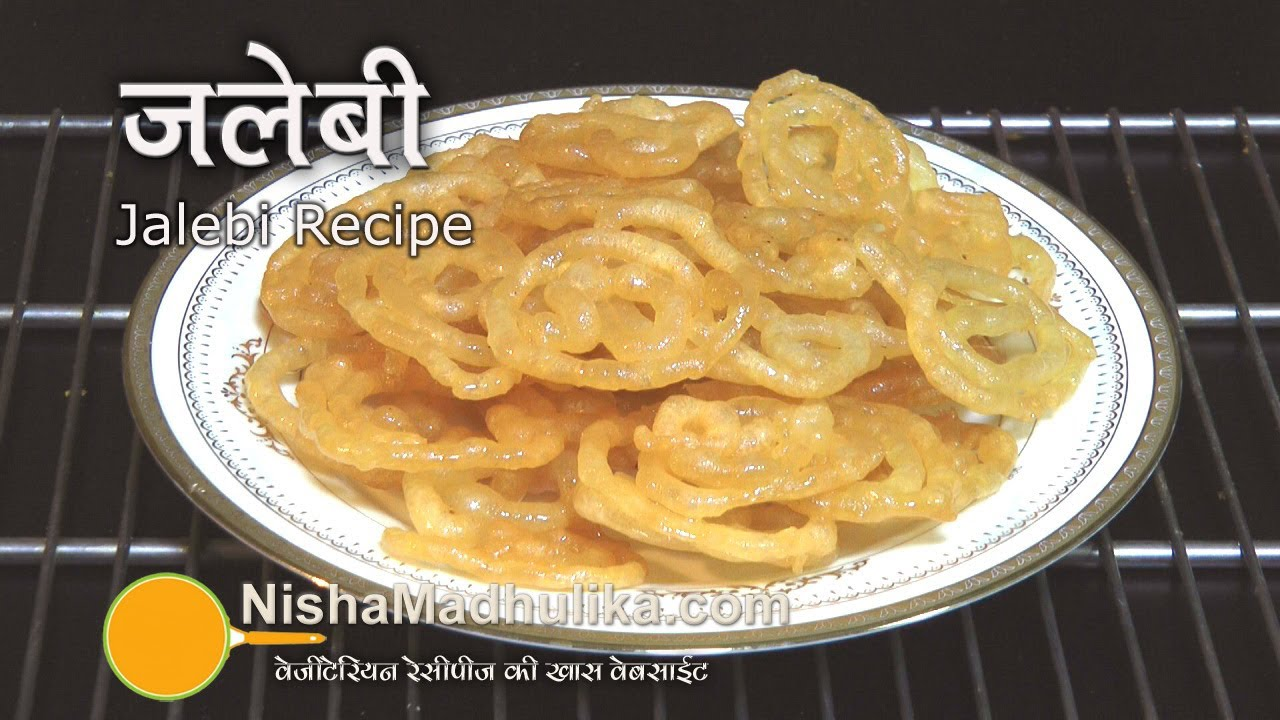 Jalebi recipe homemade jalebi recipe youtube forumfinder