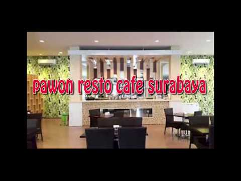 concept of interior and exterior cafe design as creative idea by pawon resto n cafe