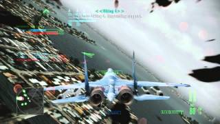 Ace Combat Assault Horizon Multiplayer Gameplay (F-15C Deathrider & SU-35)