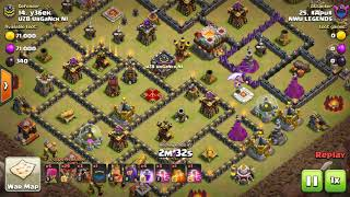 Clash Of Clans 50 vs 50 war NWU Legends