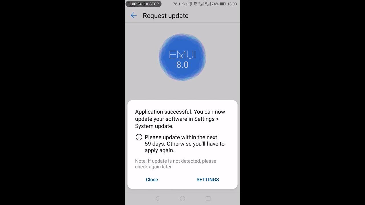 Huawei P10 plus Official Emui 9 OTA using HiCare