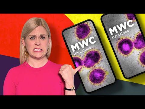 Coronavirus shuts down the world's biggest phone show