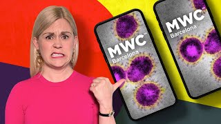 Coronavirus shuts down the world's biggest phone show