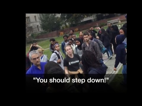 Yale Students Whine and Moan About a Lack of Safe Space