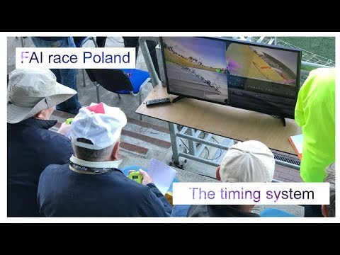 Gdynia day 2 - the timing system