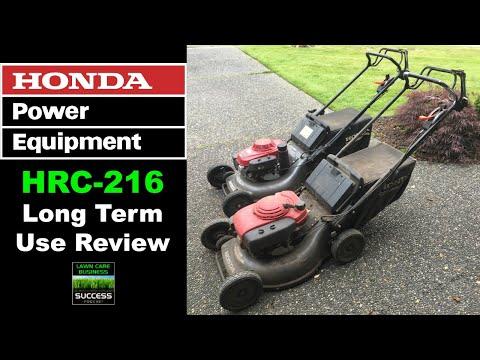 Honda HRC 216 Long Term Use Review