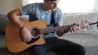 Гореть - Lumen  на гитаре