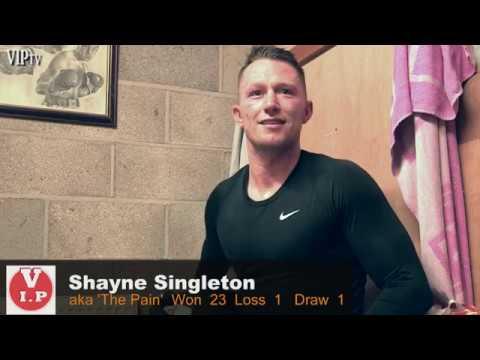 Shayne Singleton talks about British Title fight with Bradley Skeete