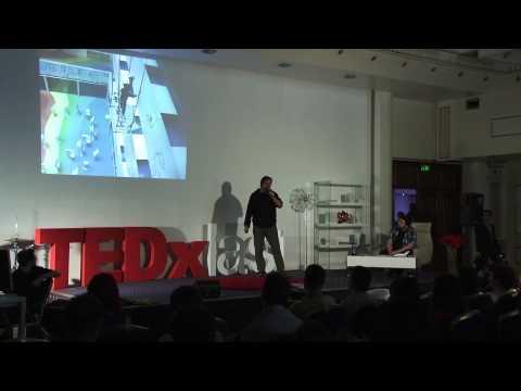 Temporary Yours | Dan Perjovschi | TEDxIasi