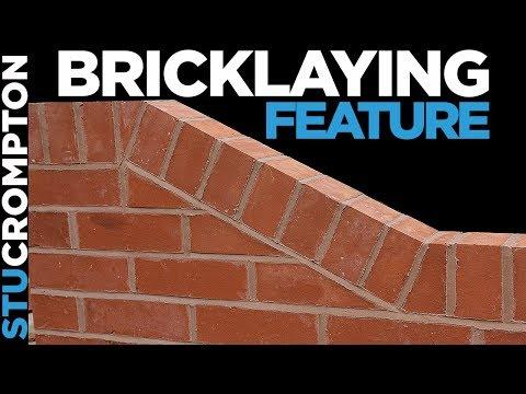 how to lay brick on edge - row locks feature