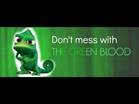 GREEN BLOOD ROCKS