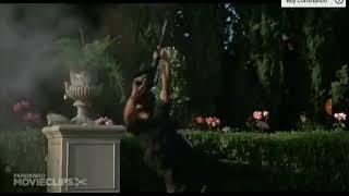 Бой из фильма коммандо под песню бада - бум