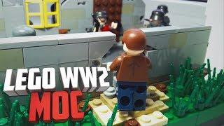 Lego WW2 MOC Варшавское Восстание | Лего самоделка по Второй Мировой войне