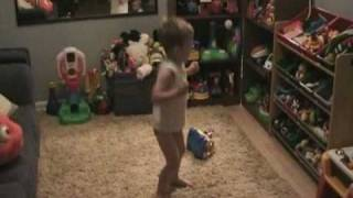 Owen dancing & potty training (31 months)