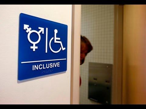 Anti-Transgender Protest Breaks The Irony-Meter