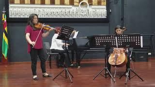Vocalise trio Rachmaninoff