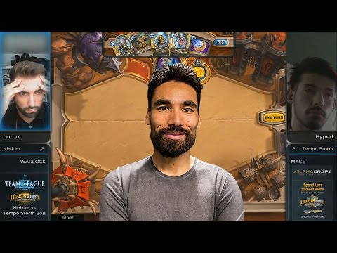 [Hearthstone] Lothar Roleplaying as Lifecoach!