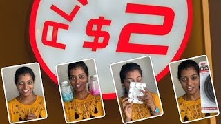 What i bought at Daiso Shop???(Tamil) Everything is $2 Dollar |Cheapest |Makeup |Cooking |BestBuy