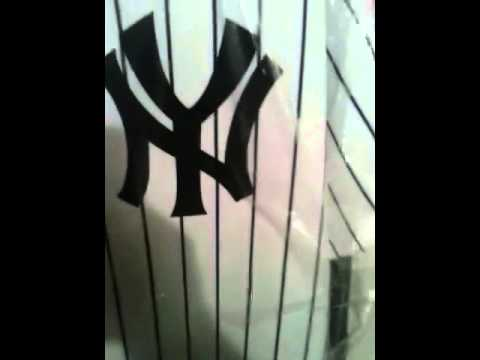 Babe Ruth home jersey