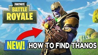 HOW TO GET THANOS TRICK FORTNITE BATTLE ROYALE!!! (100% WORKS EVERY TIME)