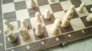 Как поставить шах и мат У шахматах Часть1 детский мат