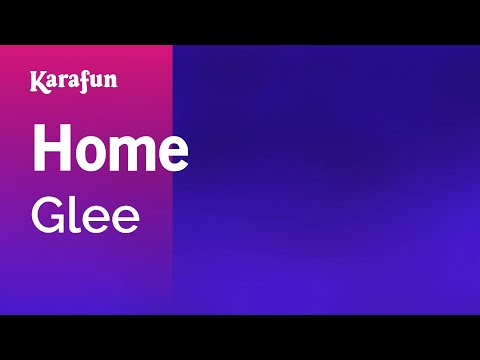 Karaoke Home - Glee *