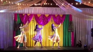 Live Bollywood Dance Performance 2017  II Richa, Shalini, Yogen, & Smita