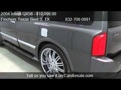 2004 Infiniti Qx56 Suv For Sale In Houston Tx 77037 Youtube