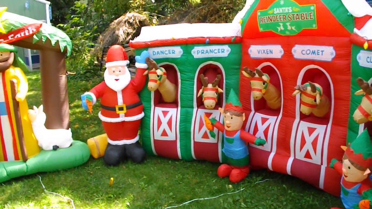 2018 Christmas Airblown Inflatable Collection for Sale on ...