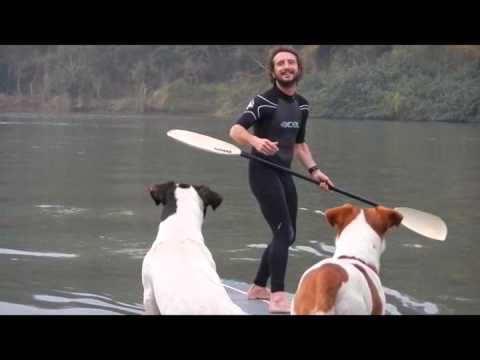 Wavejet powered SUP: first impression