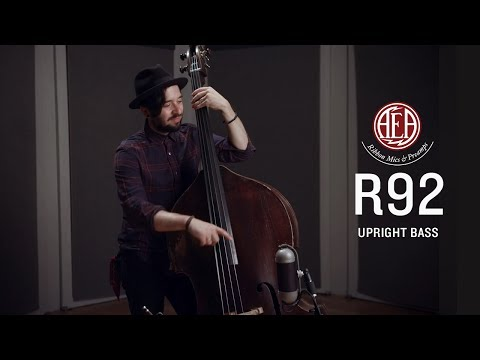 AEA R92 Back - Upright Bass - Listening Library