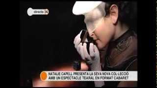 Btv, Connexió BCN, 10/12/2013, Teatre Principal Fashion performance, Natalie Capell Thumbnail